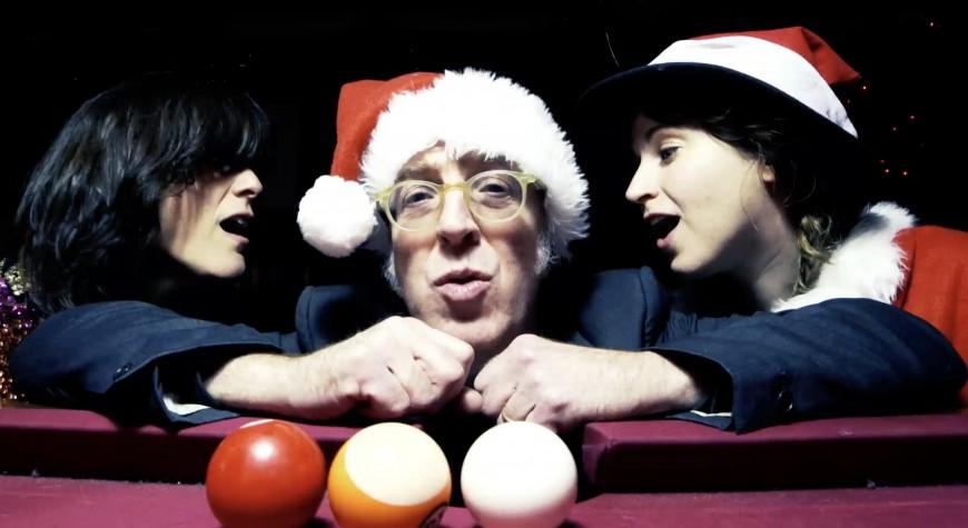 """Too Many Santas"" Video from Maxwell, Miranda, Parsley Premiering on Brooklyn Vegan"