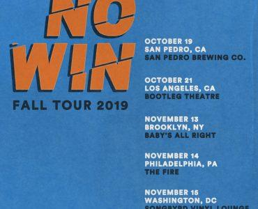 NO WIN announces fall tour dates